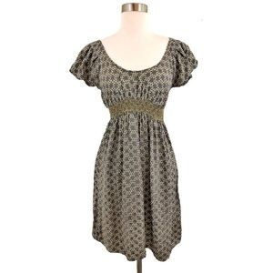 Anthropologie Corey Lynn Calter Honeycomb dress